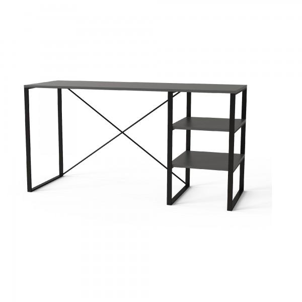 Стол письменный в стиле лофт серия  Asket 1400*500*730 на металлическом каркасе