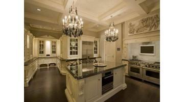 Современная кухня  в классическом  викторианском стиле. Новые тенденции винтажного стиля.