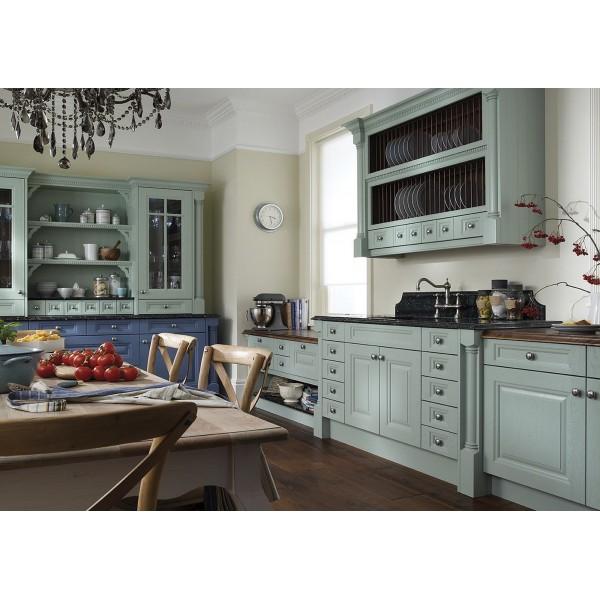 """Кухня голубая  """"Прованс"""" с фасадами..."""