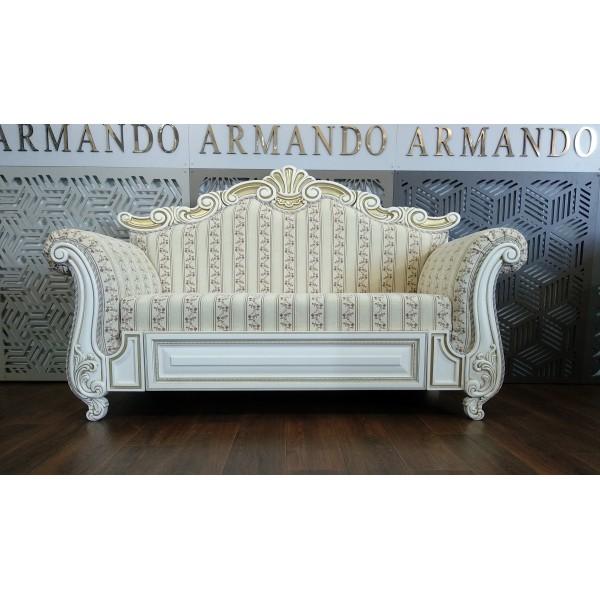 """Банкетка-канапе """"Армандо"""" на заказ резная 1600*700*1200"""