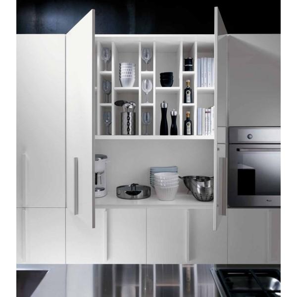 "Кухня пластик ""Белый глянец"" Pelilam HPL на заказ в Одессе"