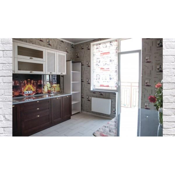 """Кухня """"Ясень Альтаир""""  с фасадом из..."""