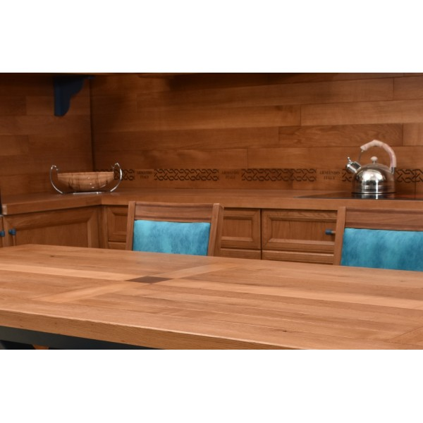 """Кухня """"СкандинавиЯ"""" из дуба на заказ. Заказать на фабрике - дешевле и удобнее."""