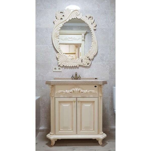Гарнитур для ванной из дерева  Альтаир классика сл...
