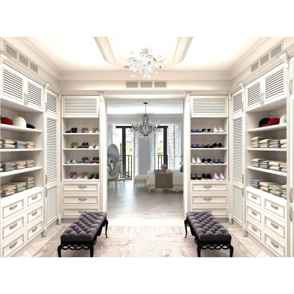 """Классическая гардеробная  """" Luxury Armando"""" на заказ в Одессе"""