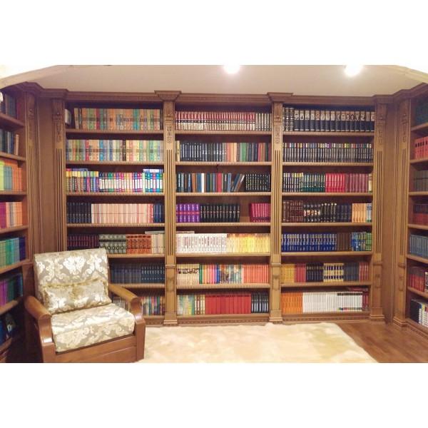 """Книжный стеллаж для библиотеки   """"Классика"""" на заказ"""