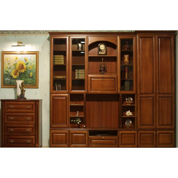 Книжный шкаф  классика на заказ в Одессе